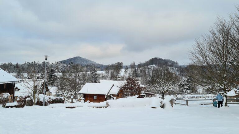 Dovolená v zimě České Švýcarsko